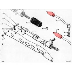 DIRAVI steering rod balls fitting scheme