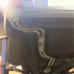 Citroën CX Turbo new exhaust line - stainless steel