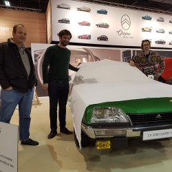 Take part to several exhibitions showing up Citroën CX
