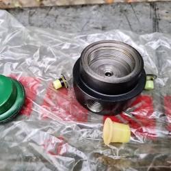 Brake accumulator end piece...
